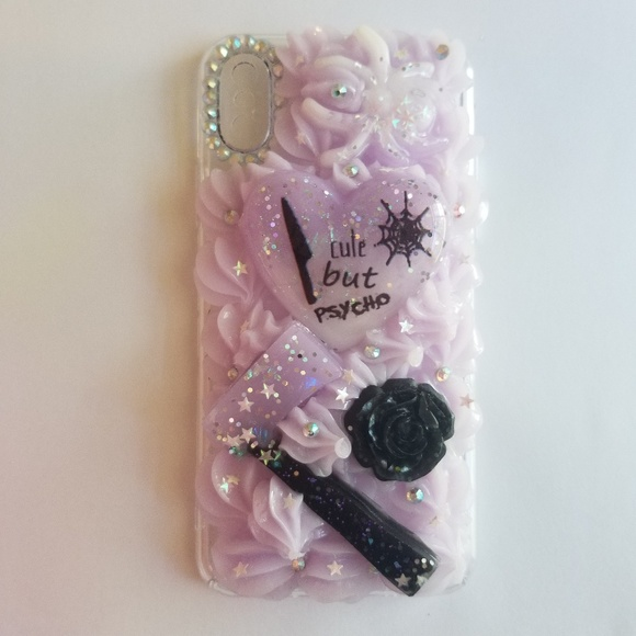sneakers for cheap 4895b 6d03c Iphone x pastel goth decoden phone case